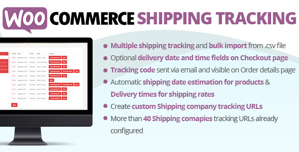 Download free WooCommerce Shipping Tracking Plugin v26.0