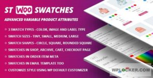 Download free WooCommerce Swatches v1.1.1 ( Color, Image and Label Swatch )