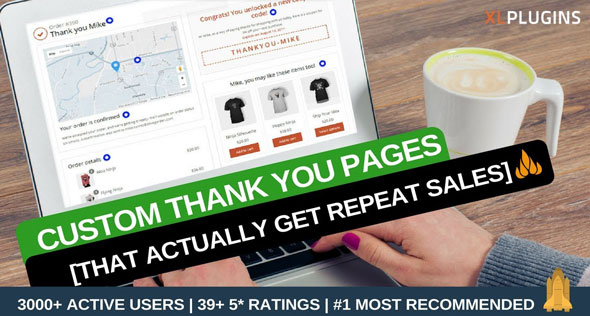 Download free WooCommerce Thank You Page v1.14.0