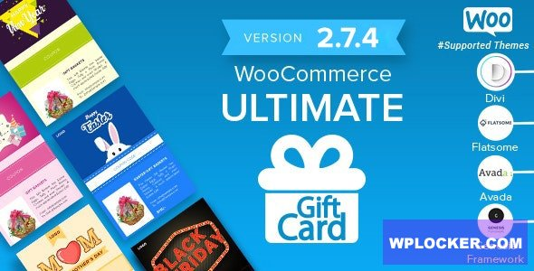 Download free WooCommerce Ultimate Gift Card v2.7.4