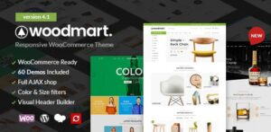 Download free WoodMart v5.0.0 – Responsive WooCommerce WordPress Theme