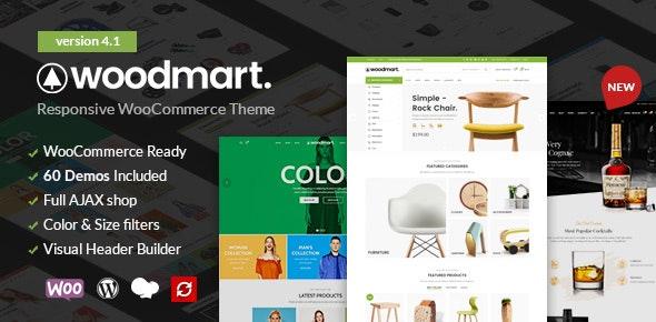 Download free WoodMart v5.0.2 – Responsive WooCommerce WordPress Theme