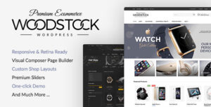 Download free Woodstock v2.1 – Responsive WooCommerce Theme