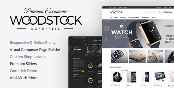 Download free Woodstock v2.1 – Responsive WooCommerce Theme