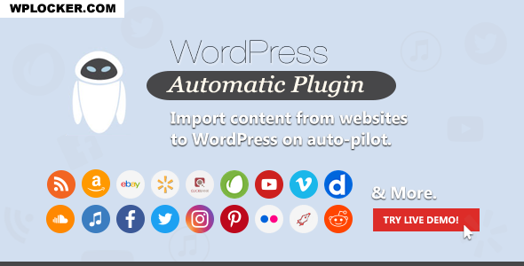 Download free WordPress Automatic Plugin v3.50.2