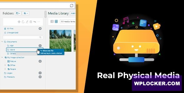 Download free WordPress Real Physical Media v1.1.6 – Physical Media Folders & SEO Rewrites