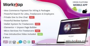 Download free Workreap v1.6.2 – Freelance Marketplace WordPress Theme