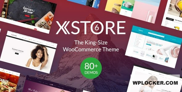Download free XStore v6.3.8 – Responsive Multi-Purpose WooCommerce WordPress Theme