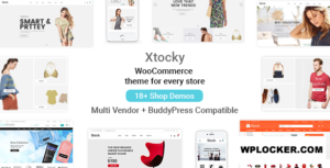 Download free Xtocky v2.1.1 – WooCommerce Responsive Theme