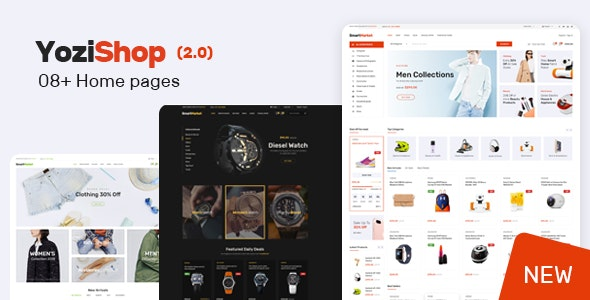 Download free Yozi v2.0.28 – Multipurpose Electronics WooCommerce Theme
