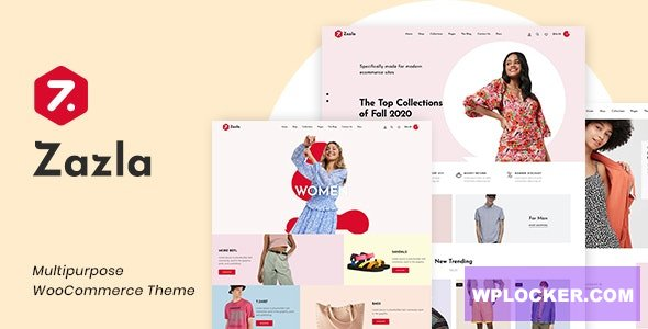 Download free Zazla v1.0.1 – Modern & Minimal WooCommerce Theme
