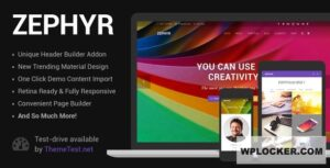 Download free Zephyr v7.7.1 – Material Design Theme