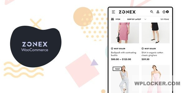 Download free Zonex v1.0.9 – Fashion WooCommerce WordPress Theme