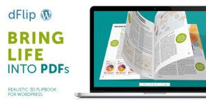 Download free dFlip v1.56.6 – PDF FlipBook WordPress Plugin