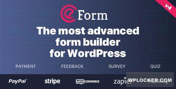 Download free eForm v4.13.1 – WordPress Form Builder
