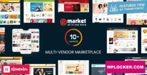 Download free eMarket v2.6.2 – Multi Vendor MarketPlace WordPress Theme