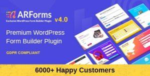 Download free ARForms v4.2 – WordPress Form Builder Plugin