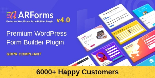 Download free ARForms v4.2 – WordPress Form Builder Plugin