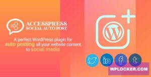 Download free AccessPress Social Auto Post v2.1.2