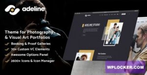 Download free Adeline v1.0 – Photography Portfolio Theme