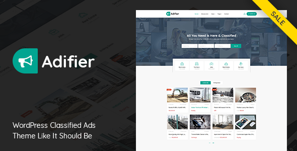 Download free Adifier v3.8.5 – Classified Ads WordPress Theme