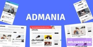 Download free Admania v2.5 – AD Optimized WordPress Theme