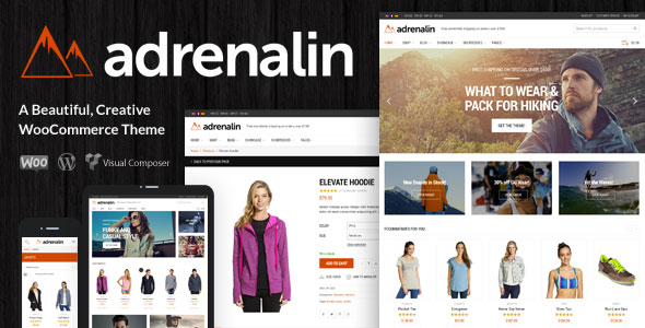 Download free Adrenalin v2.0.8 – Multi-Purpose WooCommerce Theme