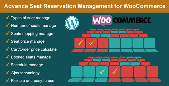Download free Advance Seat Reservation Management for WooCommerce v2.8