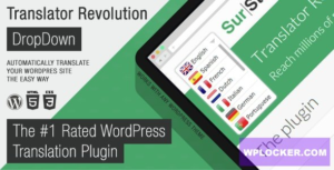 Download free Ajax Translator Revolution v2.1 – DropDown WP Plugin