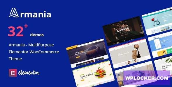 Download free Armania v1.0.9 – Multipurpose Elementor WooCommerce Theme (RTL Supported)