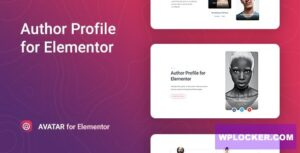 Download free Avatar v1.0.0 – Author Box for Elementor
