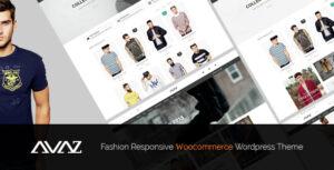 Download free Avaz v2.4 – Fashion Responsive WooCommerce Theme
