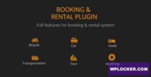 Download free BRW v1.1.2 – Booking Rental Plugin WooCommerce