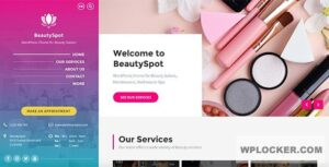 Download free BeautySpot v3.3.5 – WordPress Theme for Beauty Salons