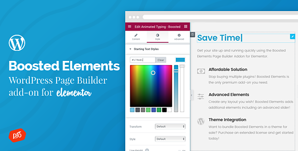 Download free Boosted Elements v3.8 – Builder Add-on for Elementor