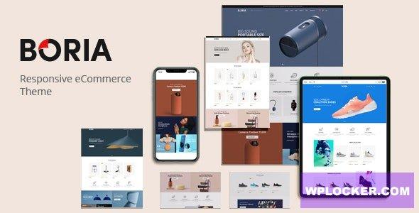 Download free Boria v1.0.0 – Multipurpose WooCommerce WordPress Theme