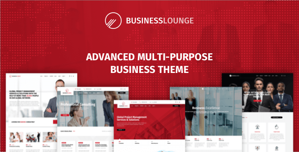 Download free Business Lounge v1.9.1 – Multi-Purpose Business Theme