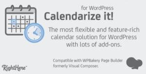 Download free Calendarize it! for WordPress v4.9.9.97605