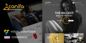 Download free Canifa v2.6 – Fashion Responsive WooCommerce Theme