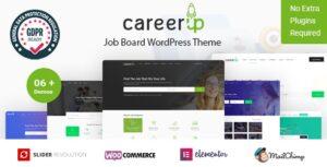 Download free CareerUp v2.3.6 – Job Board WordPress Theme