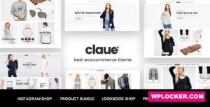 Download free Claue v2.0.5 – Clean, Minimal WooCommerce Theme