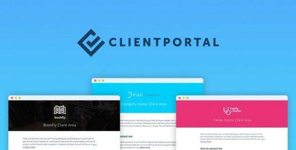 Download free Client Portal For WordPress v4.8.8