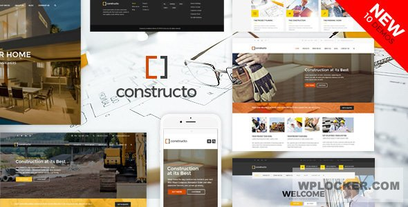 Download free Constructo v4.1.5 – WP Construction Business Theme