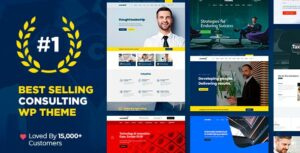 Download free Consulting v5.1.2 – Business, Finance WordPress Theme