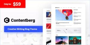 Download free Contentberg Blog v1.8.0 – Content Marketing Blog