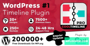 Download free Cool Timeline Pro v3.4.7 – WordPress Timeline Plugin