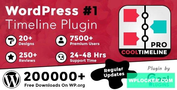 Download free Cool Timeline Pro v3.4.7 – WordPress Timeline Plugin