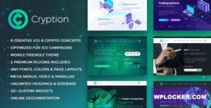 Download free Cryption v1.0.6.1 – ICO, Cryptocurrency & Blockchain WordPress Theme