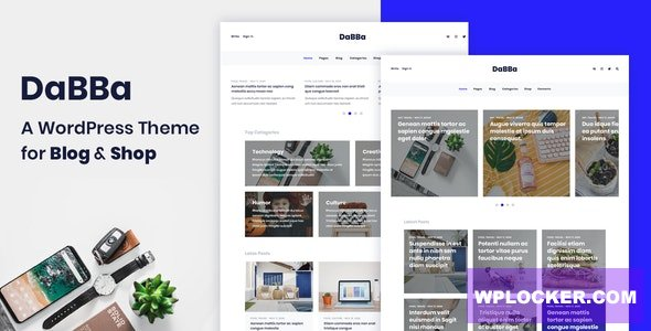 Download free Dabba v1.0.7 – A WordPress Theme For Blog & Shop