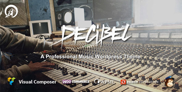 Download free Decibel v3.1.4 – Professional Music WordPress Theme